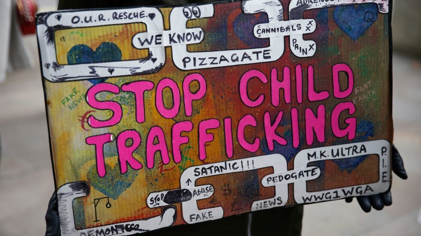 How Conspiracy Theorists Are Disrupting Efforts To Fight Human Trafficking : 1A