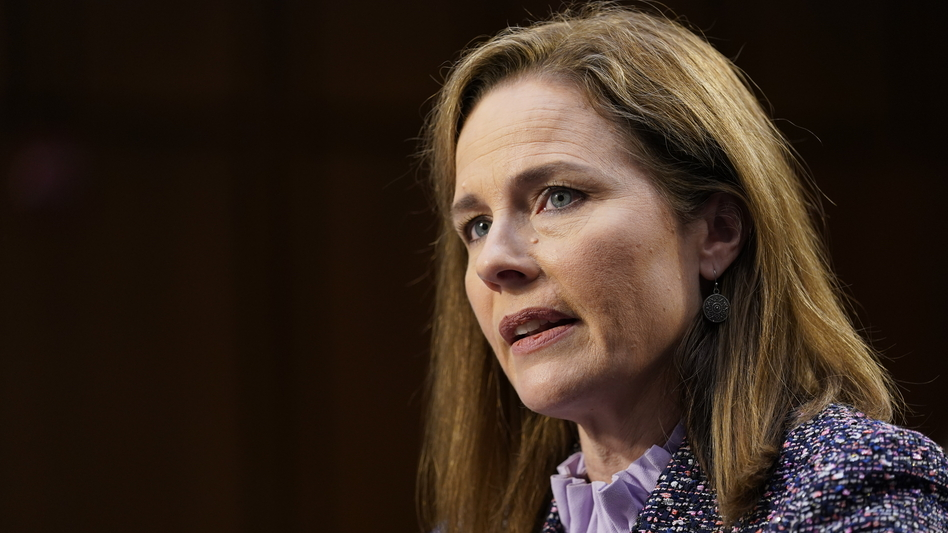 Supreme Court nominee Amy Coney Barrett fielded questions from 22 senators over two days before the Senate Judiciary Committee. (Susan Walsh/AP)