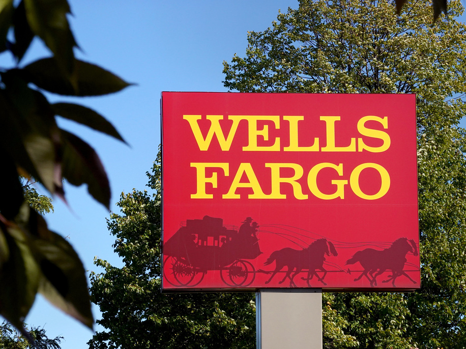 Wells Fargo has fired more than 100 employees whom it says personally defrauded a pandemic relief program from the Small Business Administration. (Scott Olson/Getty Images)