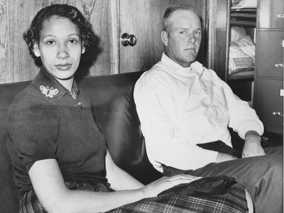 Mildred Loving and her husband Richard Loving in 1965. Bernard Cohen, who successfully challenged a Virginia law banning interracial marriage and later went on to a successful political career as a Virginia state legislator, has died at age 86.