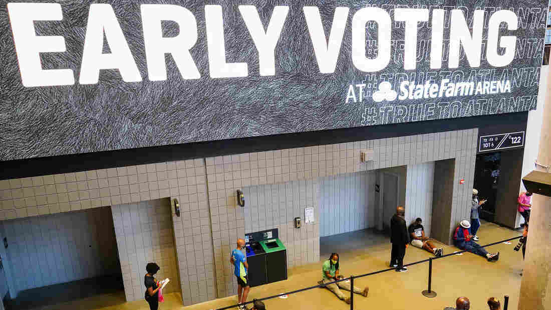 Early Voting Analysis: Huge Turnout By Democrats - NPR