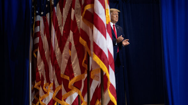 President Trump speaks to seniors in Ft. Myers, Florida, with a kinder, gentler message on the coronavirus.