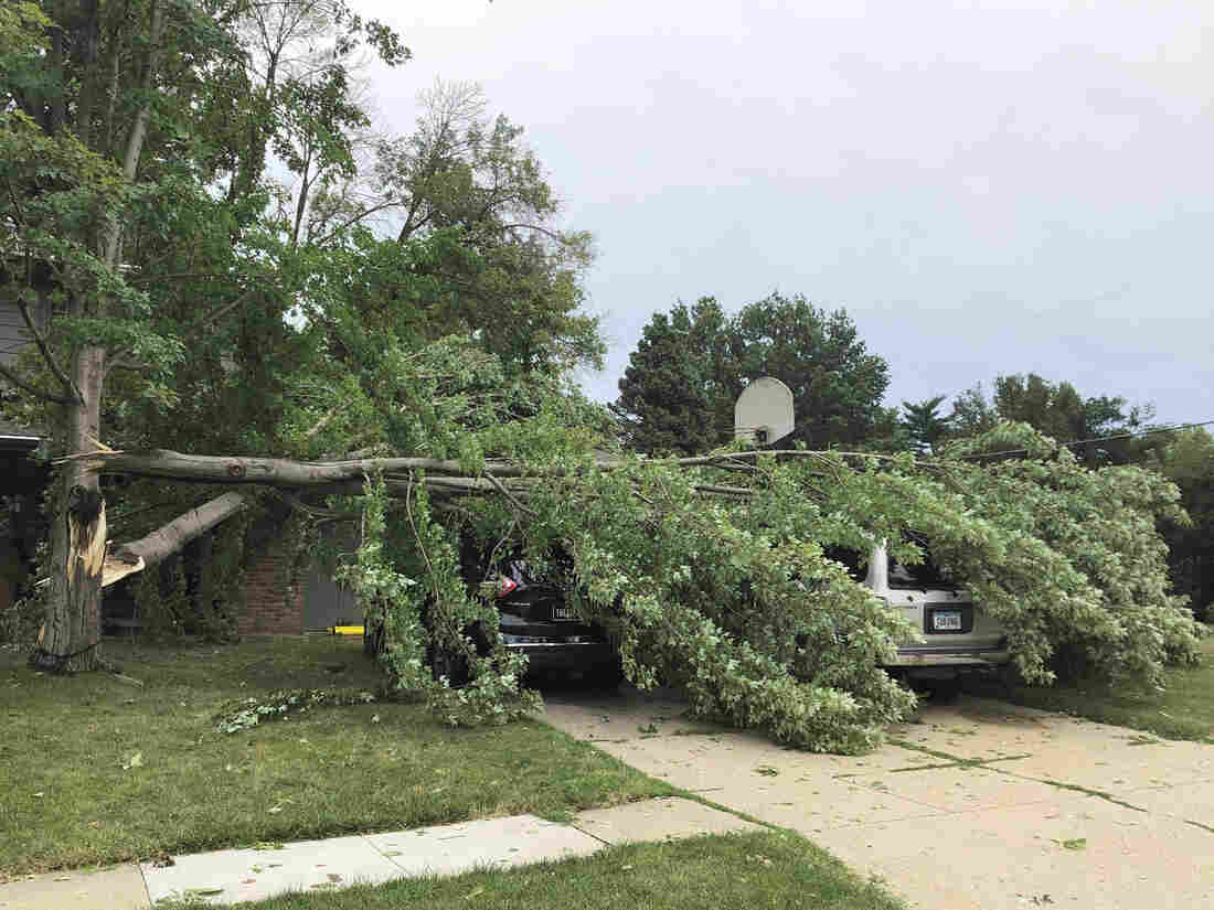 Iowa Derecho This August Was Most Costly Thunderstorm Event In Modern U.S. History