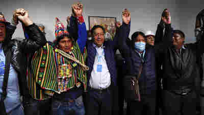 Ally Of Socialist Evo Morales On Track To Win Bolivia's Election As Rival Concedes