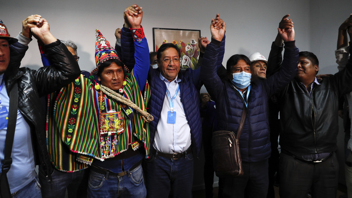 Bolivia's Election: Evo Morales Ally Luis Arce's Win 'Strong And Clear' – NPR