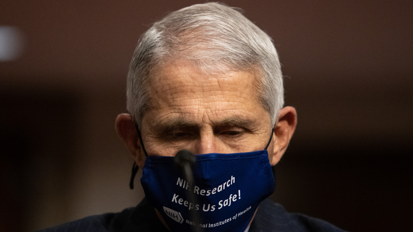 Trump criticized Dr. Anthony Fauci, the nation