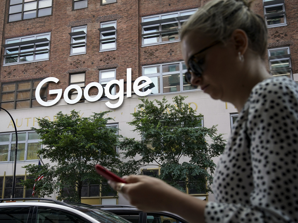 The U.S. Justice Department is suing Google, accusing the tech giant of breaking antitrust laws as it has amassed power and grown into the world's most dominant search engine. (Drew Angerer/Getty Images)