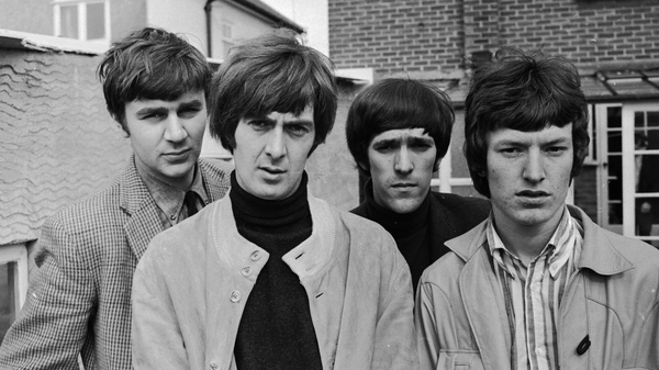 1966年的Spencer Davis集团:Pete York(左起),Spencer Davis,Muff Winwood和Steve Winwood。戴维斯(David Davis)周一去世,享年81岁。