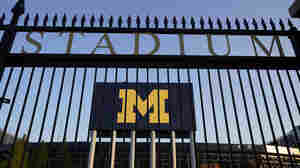 U. Of Michigan Students Under Stay-In-Place Order, But Football Can Still Kick Off