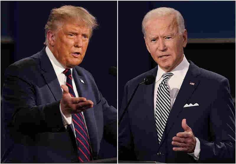 Trump, Biden argue over their tax returns