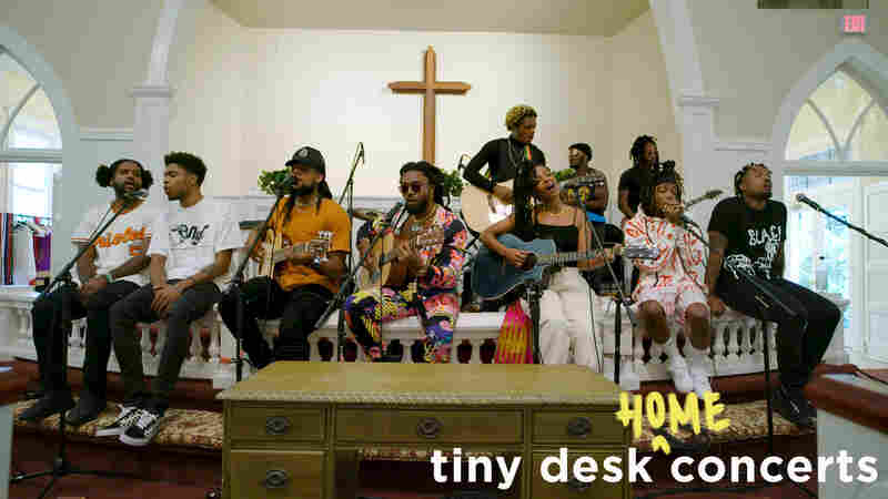 Spillage Village: Tiny Desk (Home) Concert