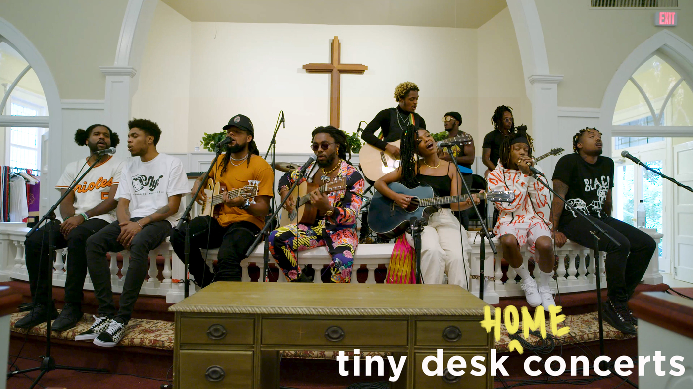 Watch the hip-hop collective Spillage Village perform a special Tiny Desk remotely from Atlanta.