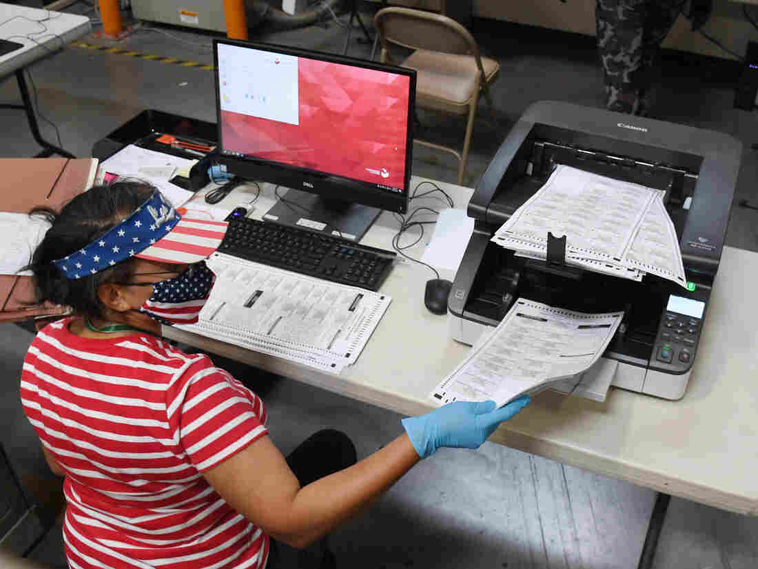 More than 47m ballots cast in US election, eclipsing 2016 early turnout