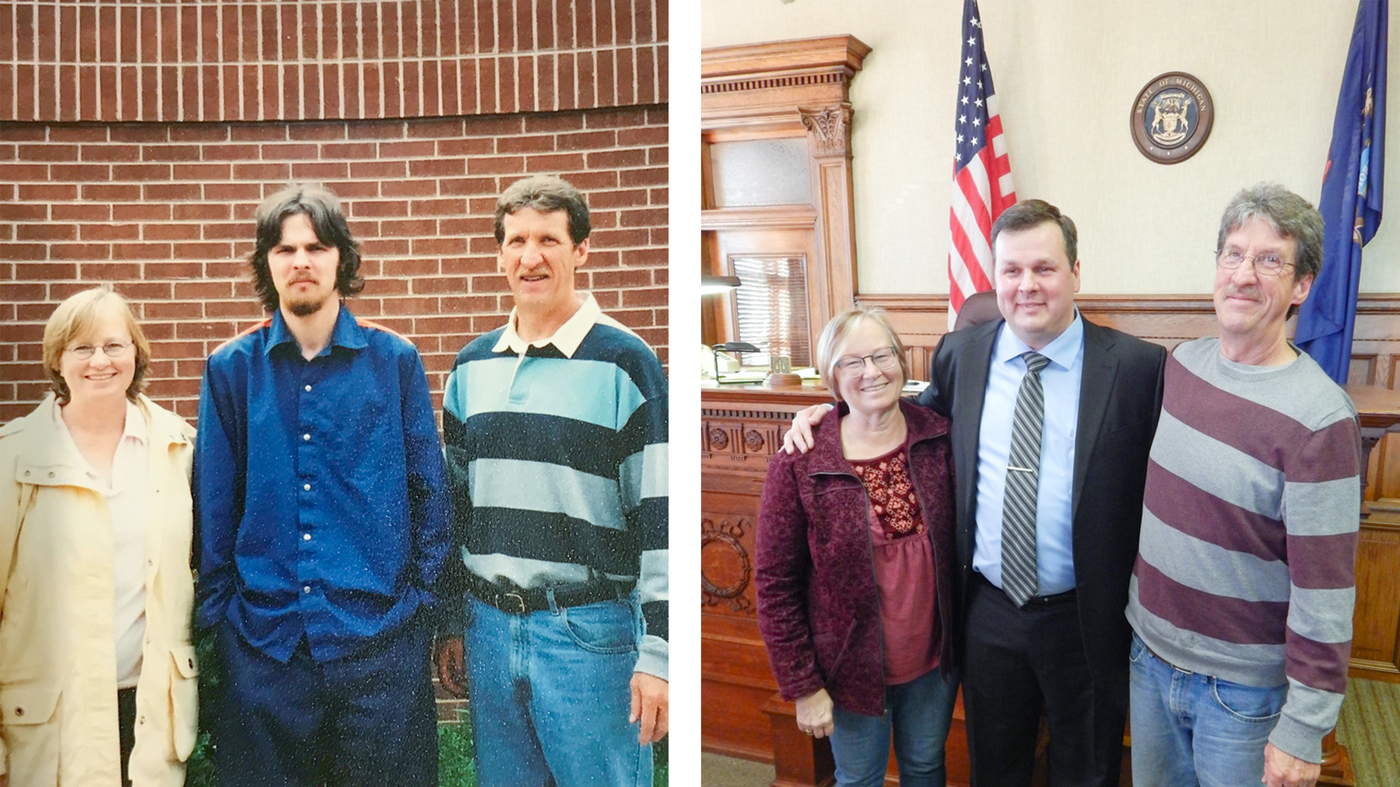Bob served nearly 6 years in prison. But his ex-girlfriend's parents never gave up on him — visiting often, helping after his release, and encouraging him to pursue law school.  Last year, Bob was sworn in as a lawyer by the same judge who sentenced him.