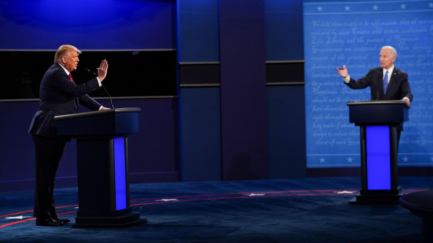 5 Takeaways From The Last Trump-Biden Presidential Debate – NPR