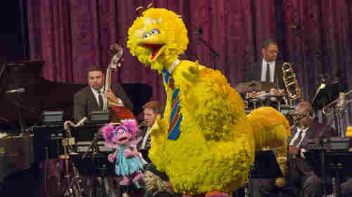 Swinging The Clouds Away: Jazz Takes Over Sesame Street