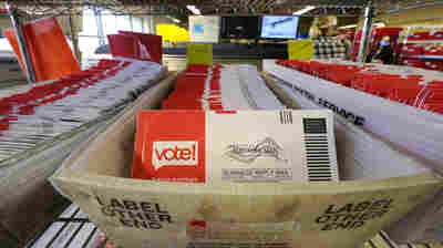 100 Million Ballots, But Experts Say 'Heaven And Earth' Being Moved For Election Mail