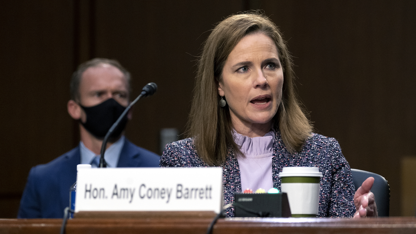 Amy Coney Barrett Confirmed To Supreme Court – NPR