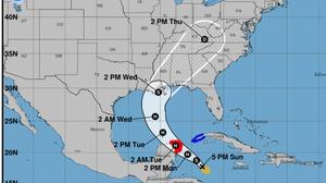 Gulf Coast Braces As Tropical Storm Zeta Poised To Become A Hurricane