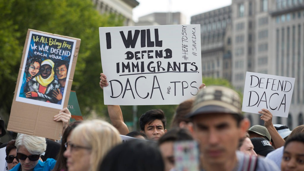 TPS Holders In D.C. Region Sue To Stop Policy Change That Could Lead To Deportation