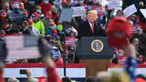 At Race's End, Trump's Rallies Recall Other Late Lunges In White House History