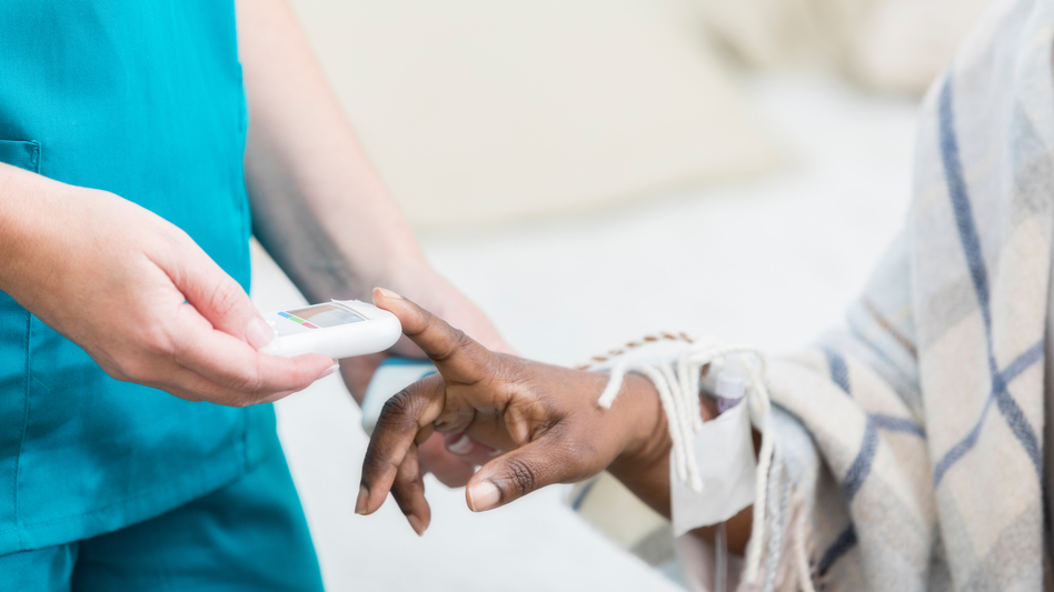 On average, each U.S. nursing home is connected to seven others through shared staff, a study by Yale and UCLA researchers suggests. Rigorous infection control measures can curb the spread of the coronavirus, but many workers say they still don't have sufficient masks and other personal protective equipment. (SDI Productions/Getty Images)