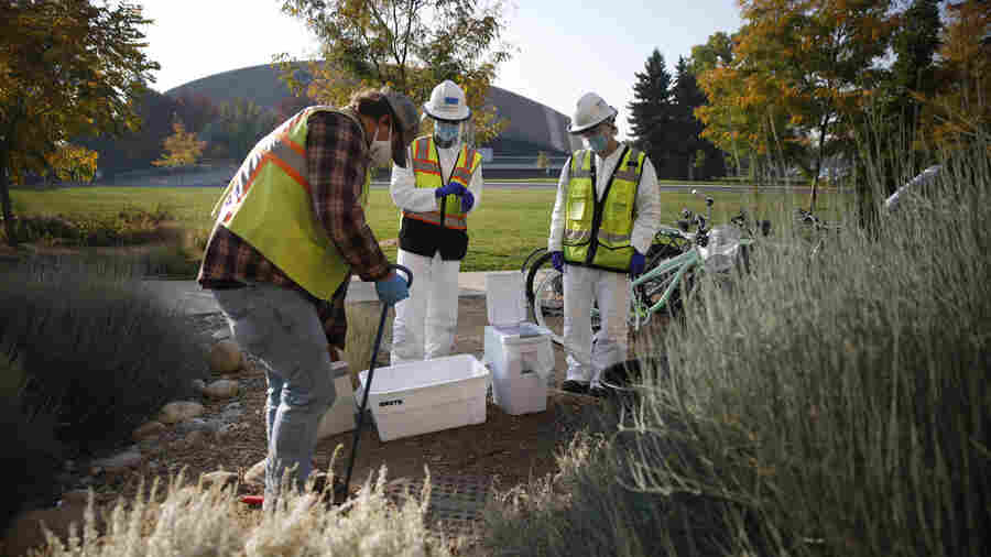 Colleges Turn To Wastewater Testing In An Effort To Flush Out The Coronavirus