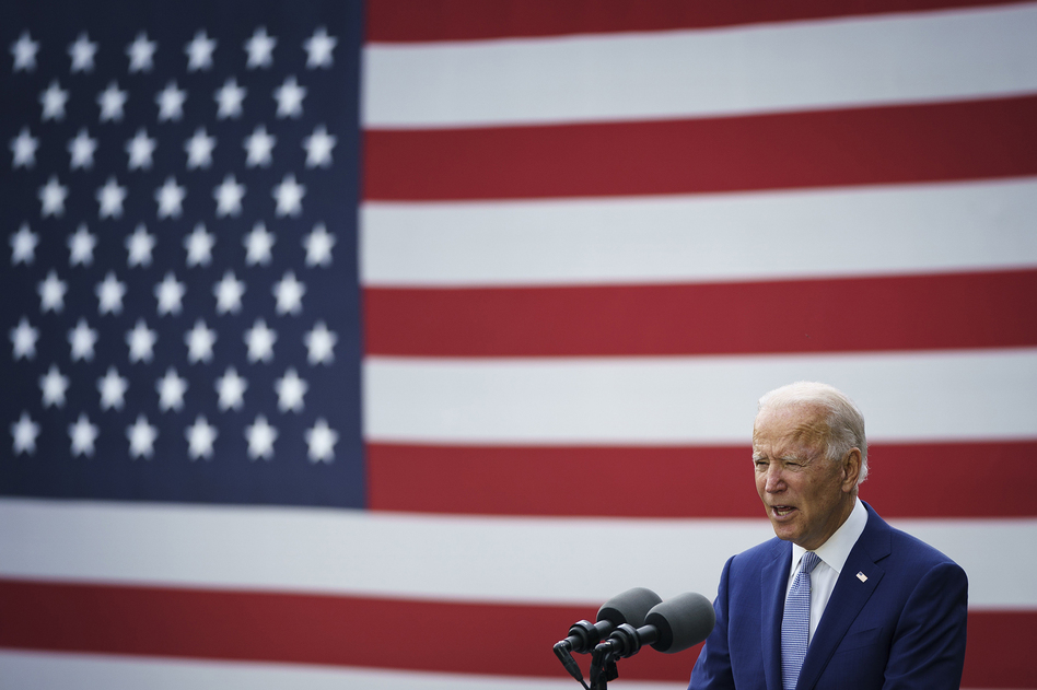 Democratic presidential nominee Joe Biden has detailed plans to combat the coronavirus crisis. (Drew Angerer/Getty Images)