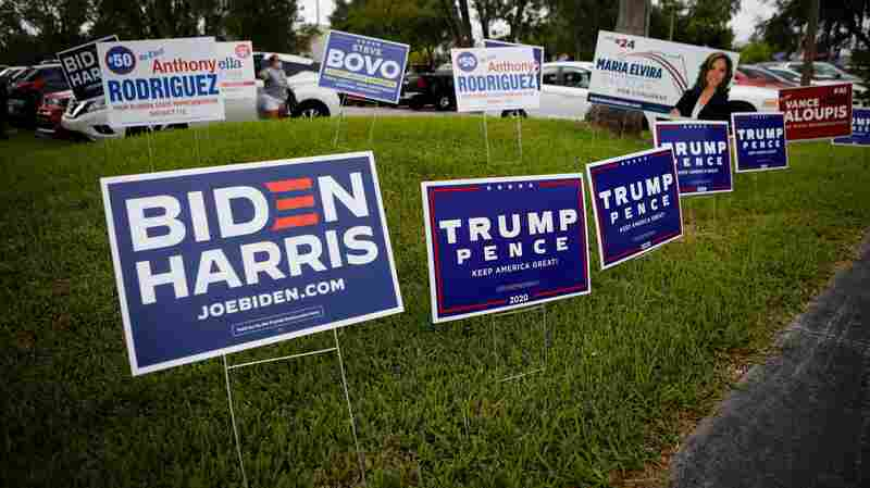 Biden And Trump Campaigns Stress Closing Themes In New TV Ads