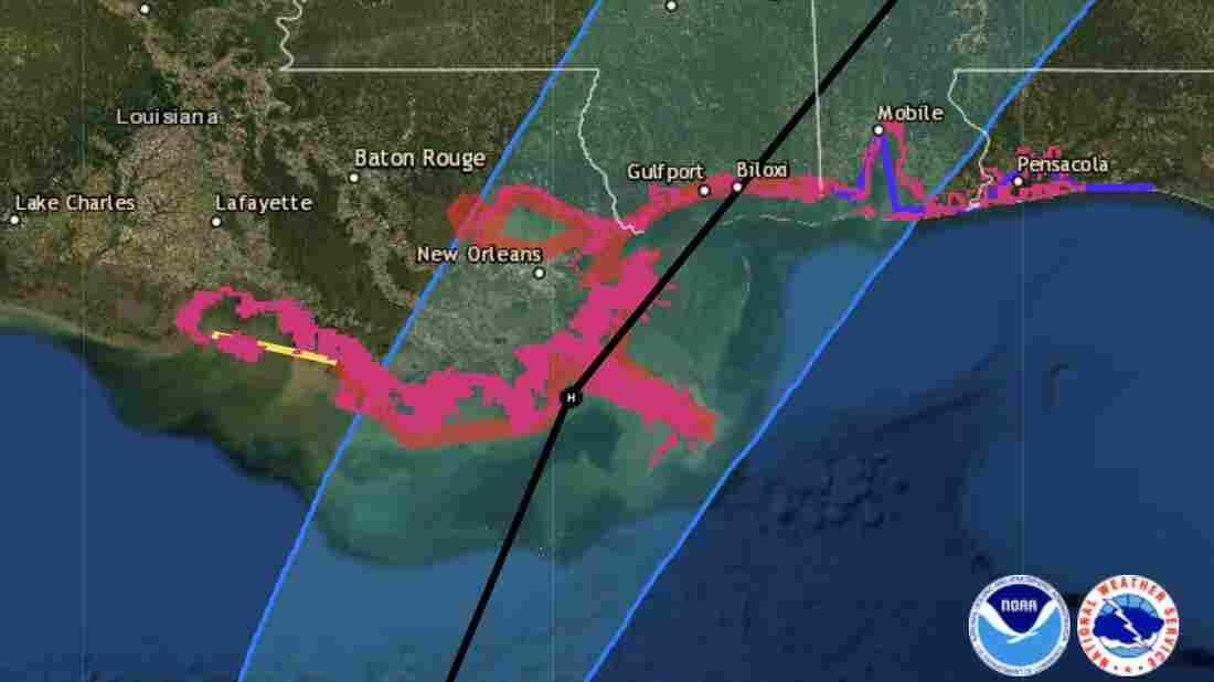 Zeta now a hurricane, heads for northern Gulf Coast
