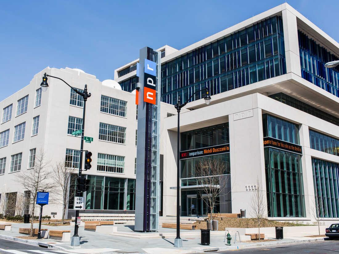 NPR Headquarters in Washington, DC on April 9, 2013.