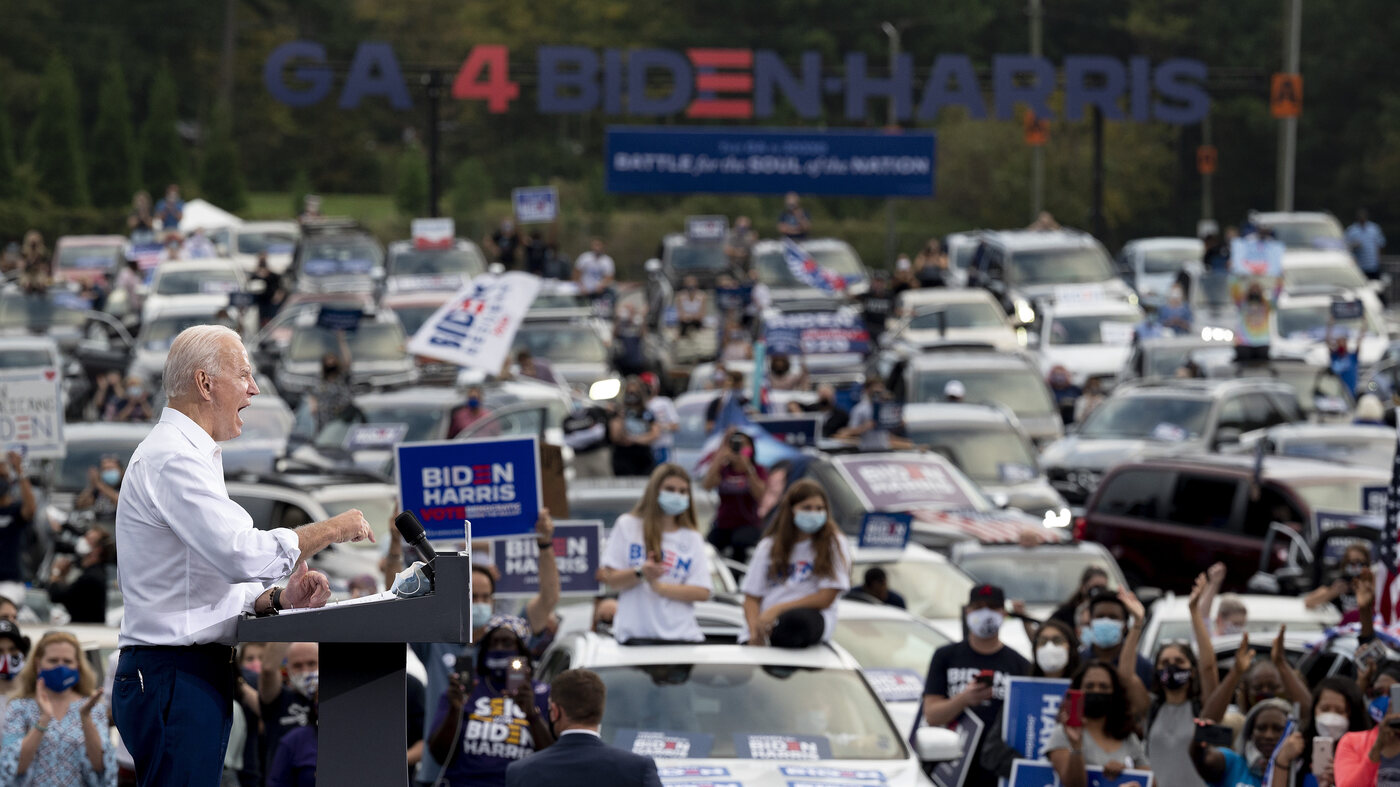 Early Voting Points To Possible Record Turnout, With New States In Play