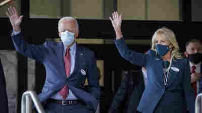 Joe Biden Votes Early In Wilmington, Del.