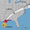 Hurricane Zeta Weakening As It Moves From Louisiana Across Alabama And Mississippi