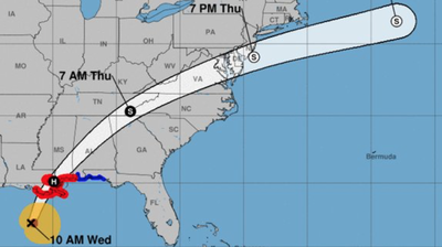 Hurricane Zeta Expected To Make Landfall Near New Orleans As Category 2 Storm