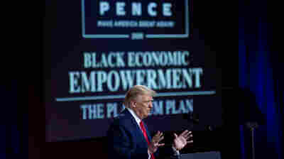 With Lil Wayne, Ice Cube And 50 Cent, Trump Makes Final Push For Black Voters
