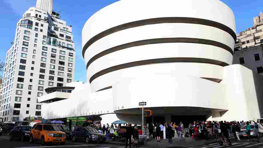 Guggenheim's Audio Guide Brings The Art Museum To Listeners' 'Mind's Eye'