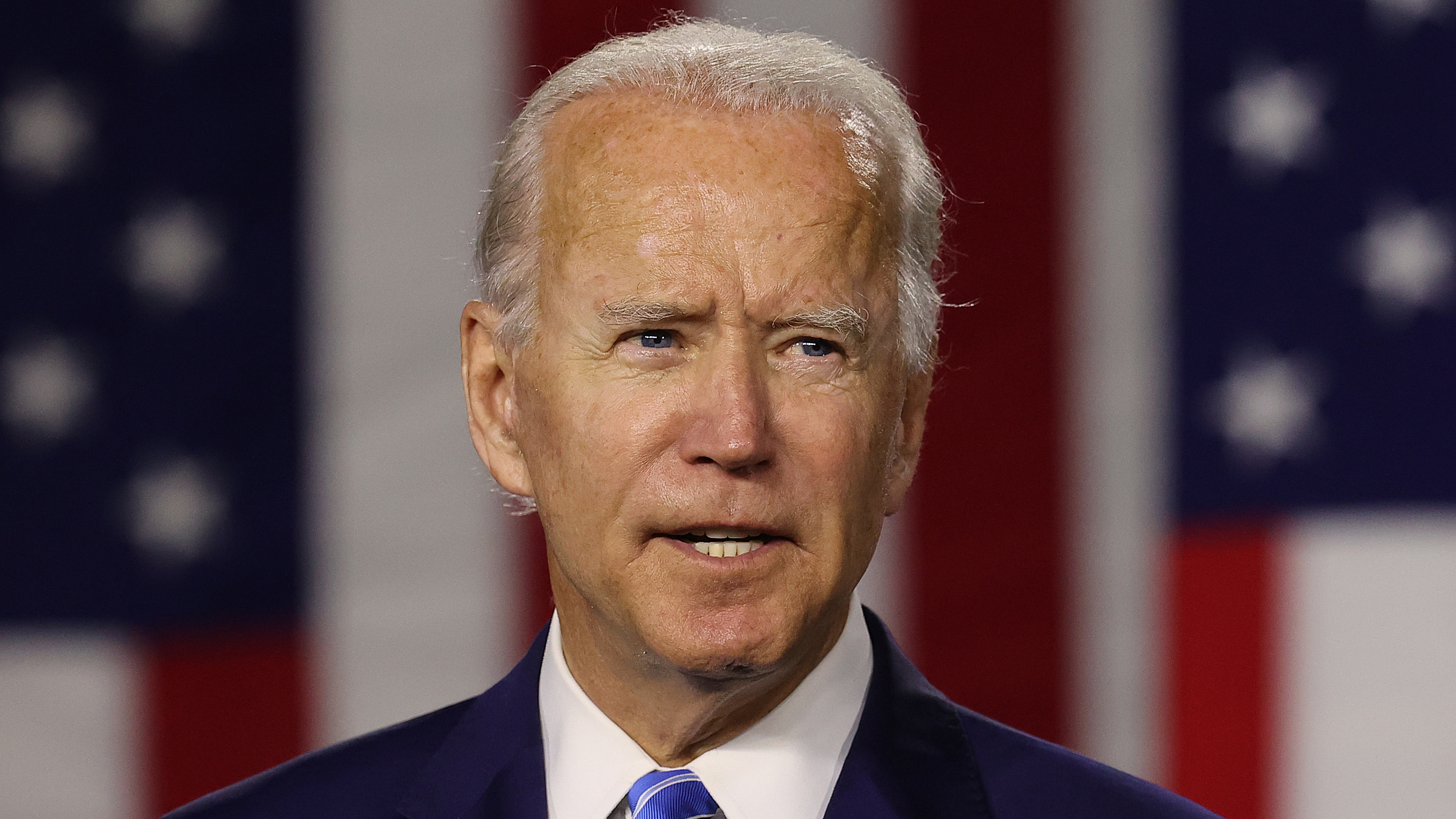 """From the moment he launched his campaign, Joe Biden focused on what he called a """"battle for the soul of our nation."""""""