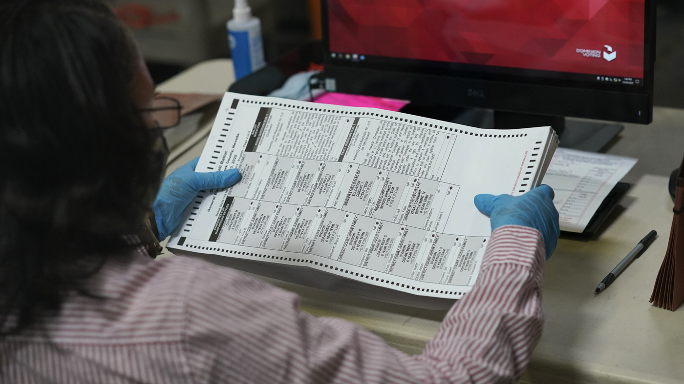 Nevada Judge Blocks Republican Lawsuit That Sought To Halt Mail-In Ballot Count – NPR