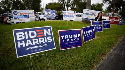 An Unprecedented Election Season Ends The Way It Began: With Voters Locked In