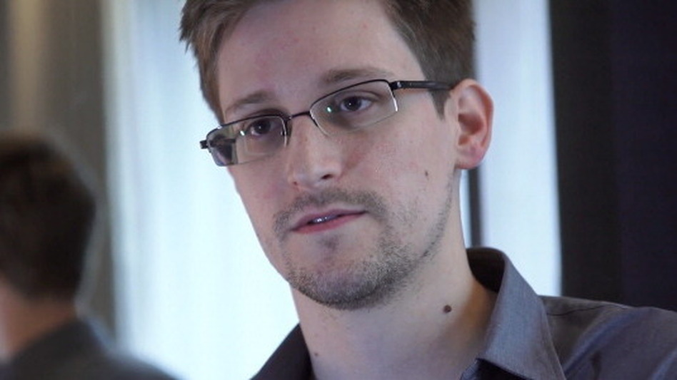 Edward Snowden, seen here in Hong Kong in 2013, is seeking dual Russian-U.S. citizenship. The former contractor for the U.S. National Security Agency revealed details of top-secret surveillance conducted by the NSA. (The Guardian via Getty Images)