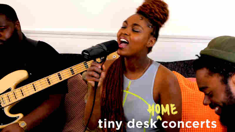 Tiana Major9: Tiny Desk (Home) Concert