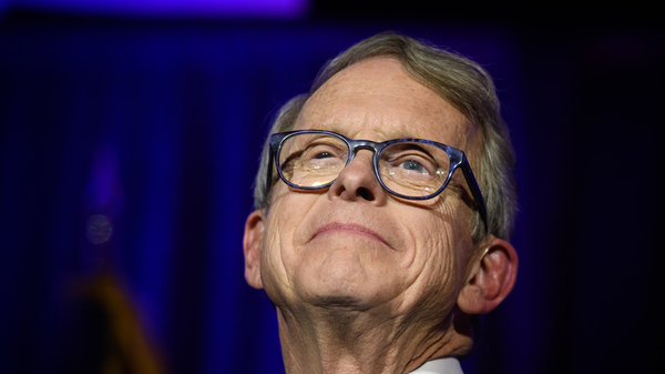 Ohio Gov. Mike DeWine, shown here in 2018, took steps early on to contain the pandemic in his state.