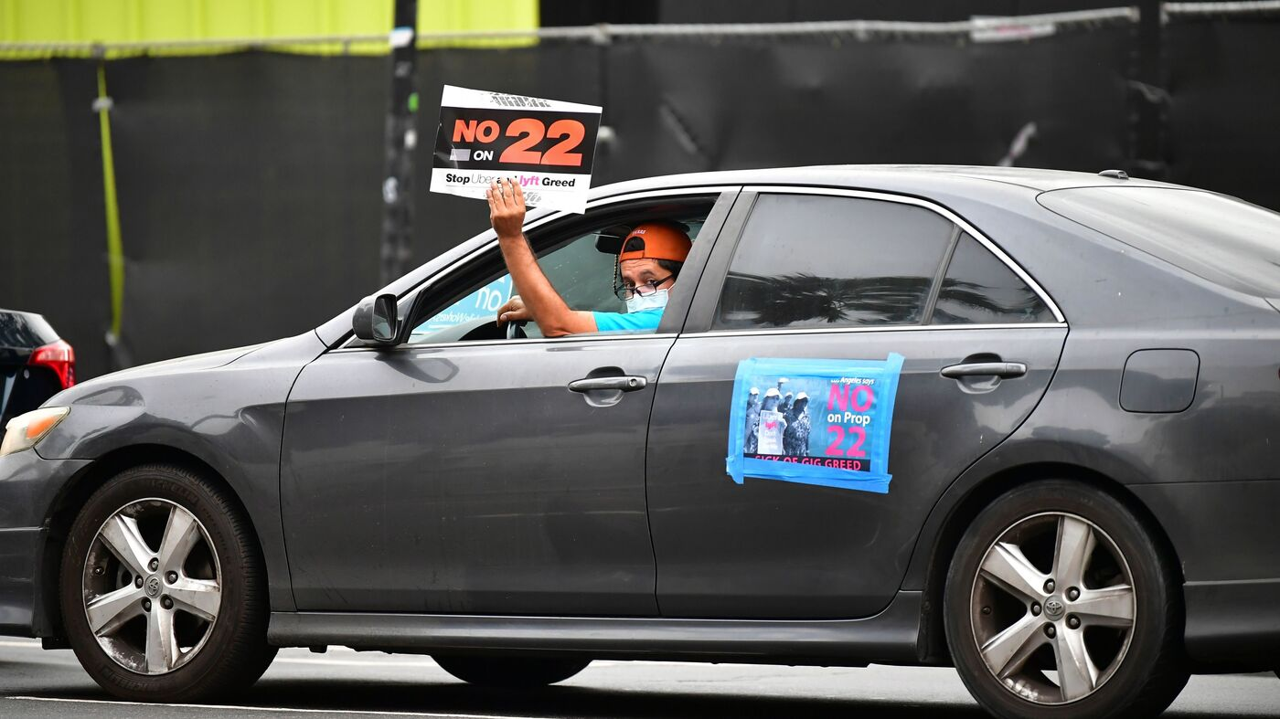 Prop 22: California Voters Give Uber And Lyft A Win – NPR