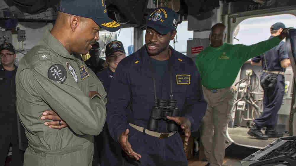 Why Does The Navy Have So Few Black Admirals? Some Blame A Culture Of Discrimination