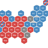 Where presidential votes are still counted