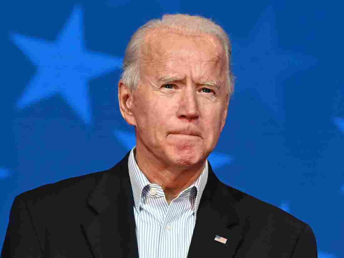 Biden Urges Patience As His Lead Widens In Key States