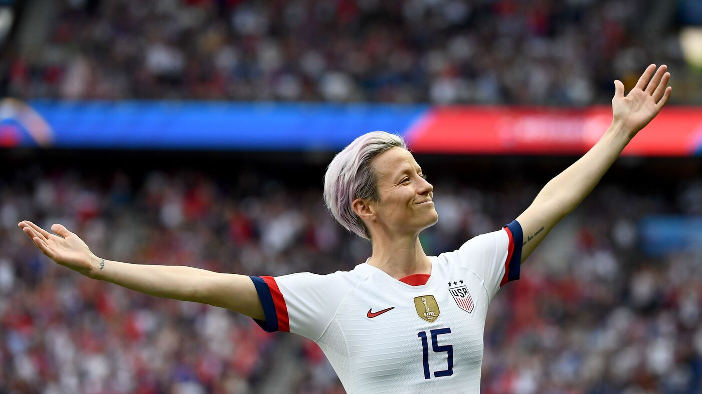 Soccer Star Megan Rapinoe On Equal Pay, And What The U.S. Flag Means To Her