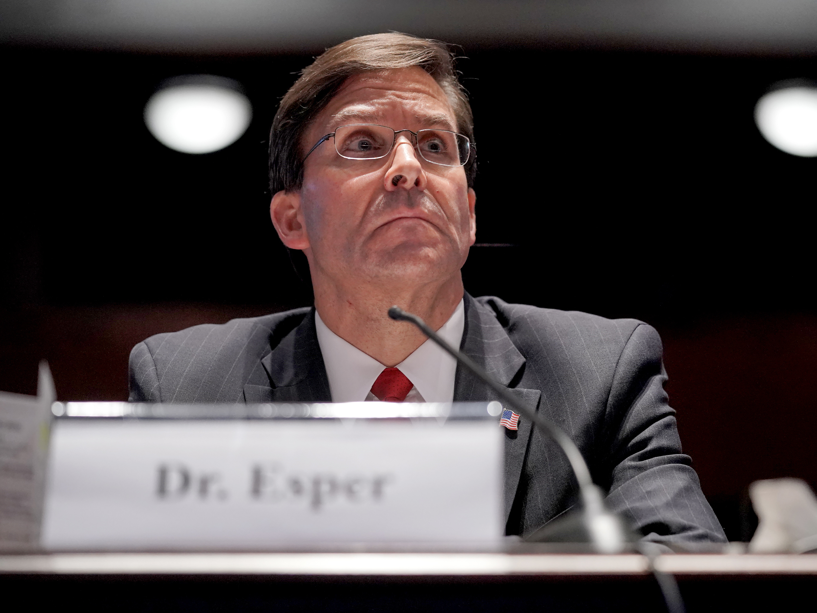 Trump fires Defense Secretary Mark Esper