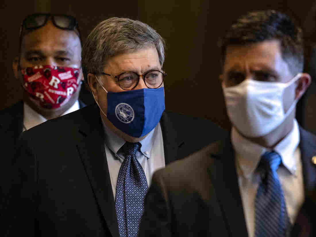 Barr Wades Into Trump's False Voting Claims, Allowing Prosecutors To Investigate